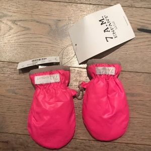 New with tags 7 AM enfant mittens pink from jcrew
